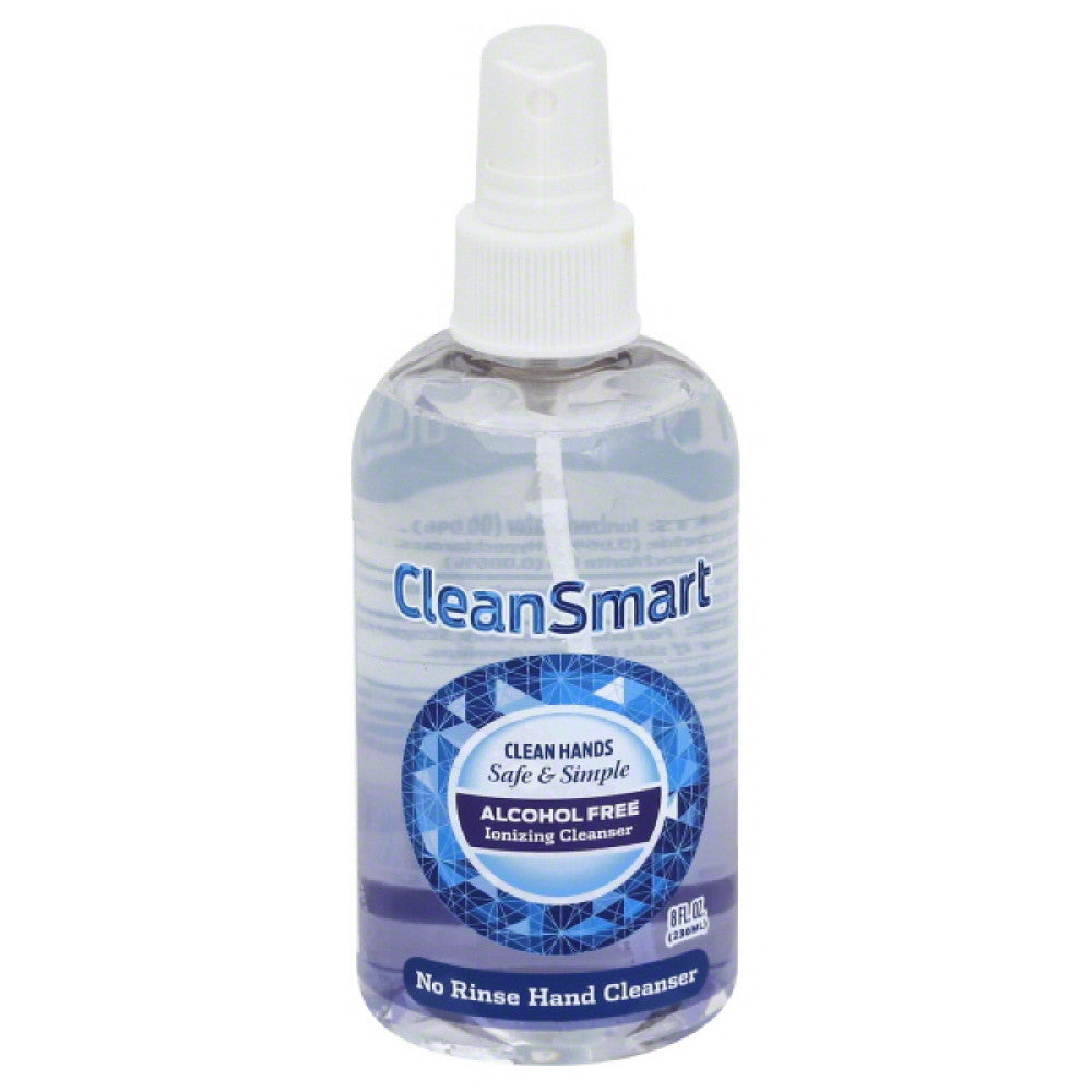 Clean Smart No Rinse Hand Cleanser, 8 Oz