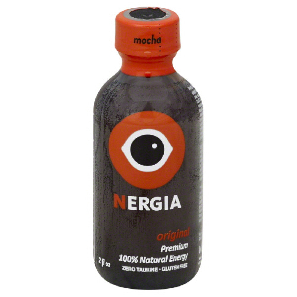 Nergia Mocha Original 100% Natural Energy, 2 Fo (Pack of 8)