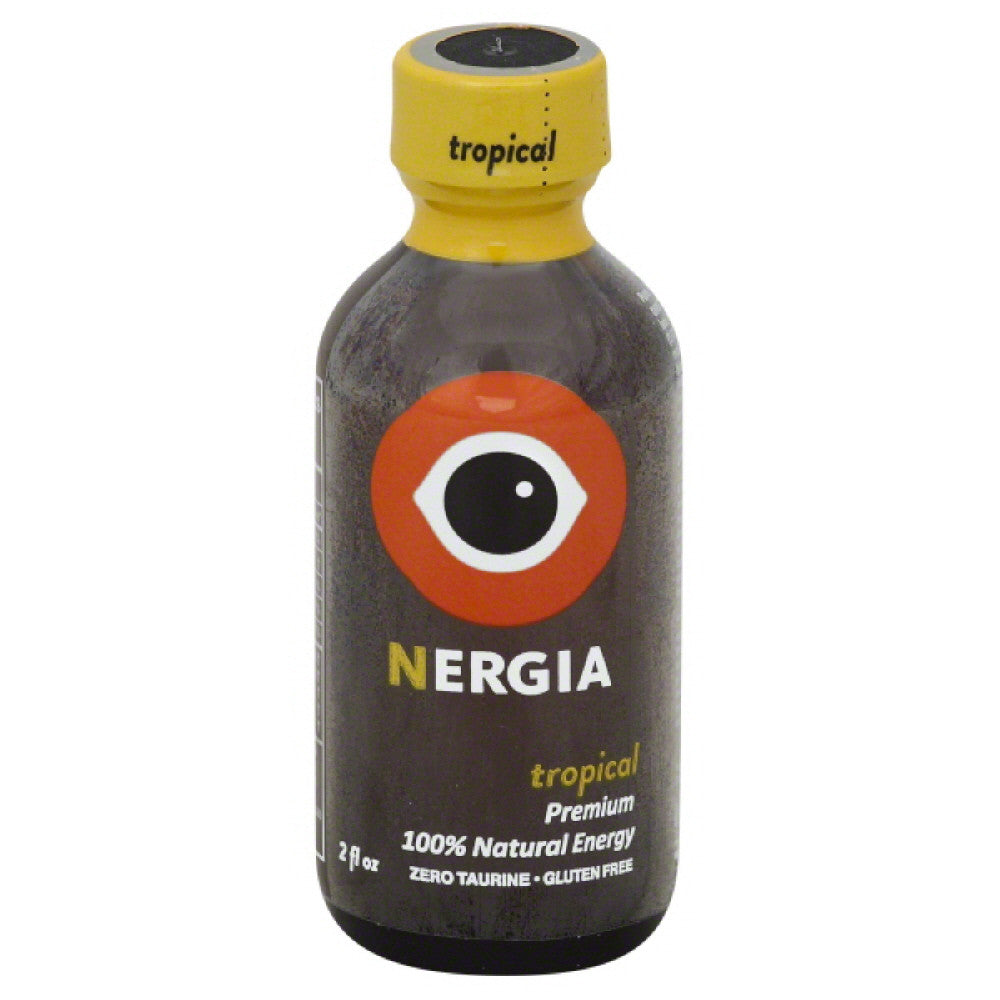 Nergia Tropical 100% Natural Energy, 2 Fo (Pack of 8)