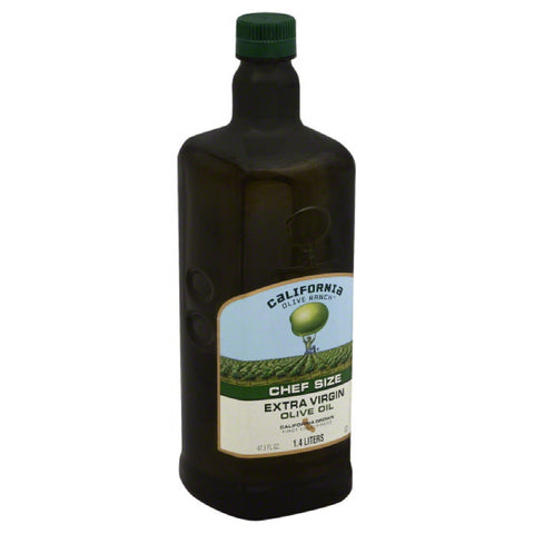 California Olive Ranch Chef Size California Grown Extra Virgin Olive Oil, 1.4 Lt (Pack of 6)