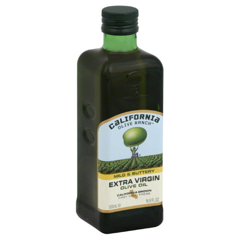 California Olive Ranch Mild & Buttery Extra Virgin Olive Oil, 16.9 Fo (Pack of 6)