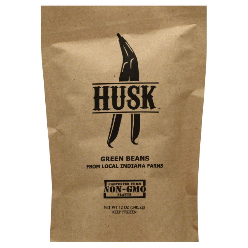 Husk Green Beans, 12 Oz (Pack of 8)