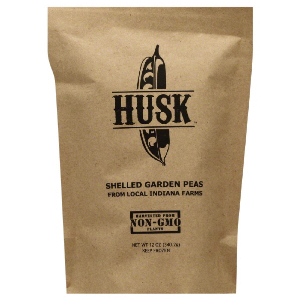 Husk Shelled Garden Peas, 12 Oz (Pack of 8)