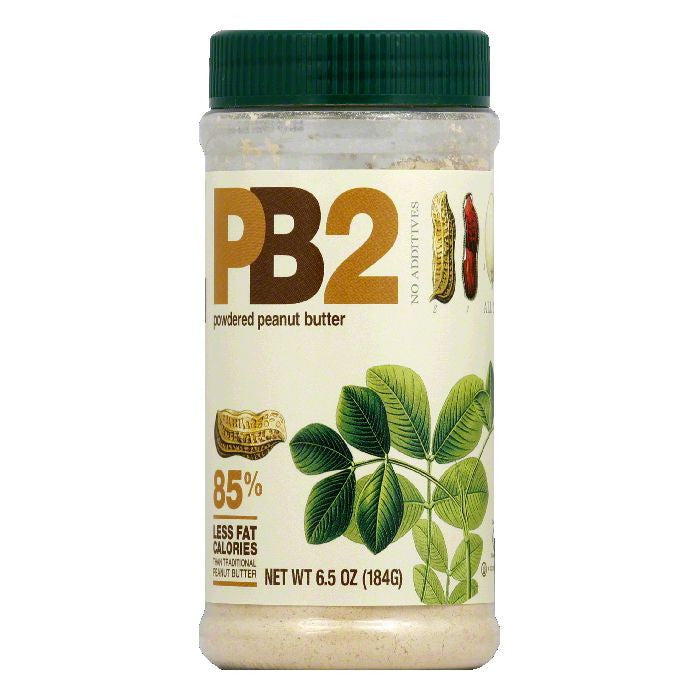 PB2 Powdered Peanut Butter, 6.5 Oz (Pack of 12)