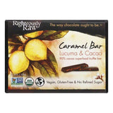 Righteously Raw Lucuma & Cacao Caramel Bar, 2.3 OZ (Pack of 12)