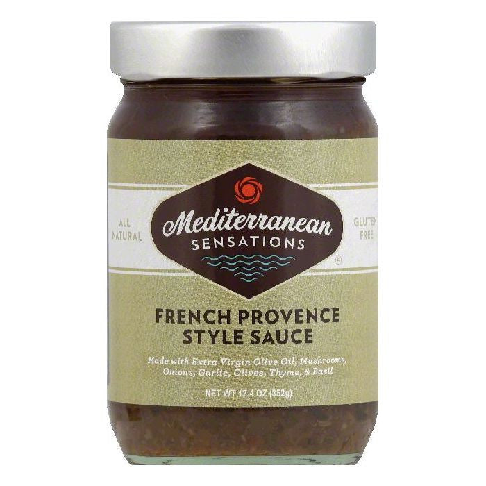 Mediterranean Sensations French Provence Style Sauce, 12.4 OZ (Pack of 6)