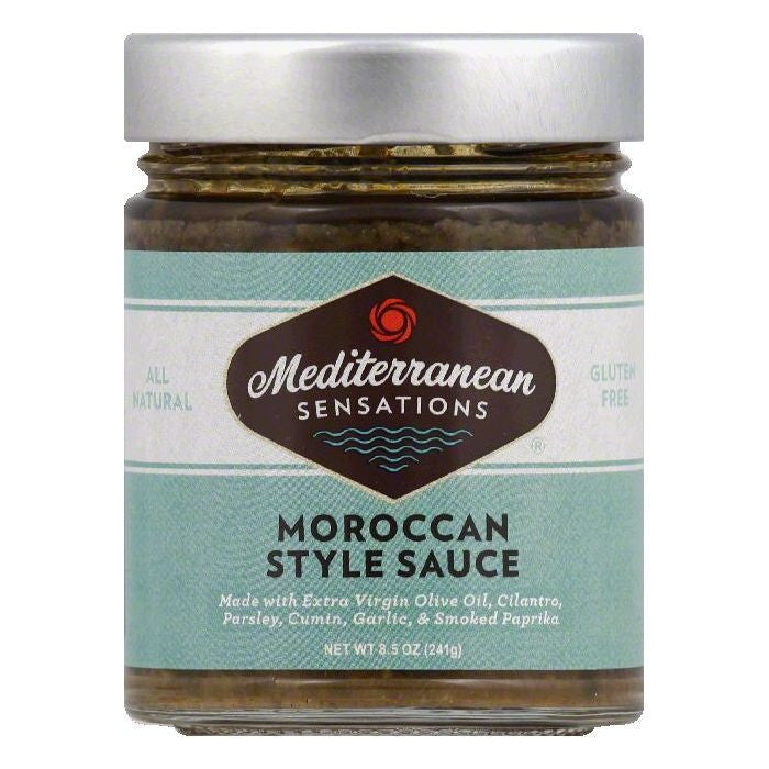 Mediterranean Sensations Moroccan Style Sauce, 8.5 OZ (Pack of 6)