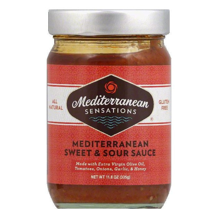 Mediterranean Sensations Mediterranean Sweet & Sour Sauce, 11.8 OZ (Pack of 6)