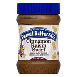 Peanut Butter & Co Cinnamon Raisin Swirl Peanut Butter, 16 OZ (Pack of 6)
