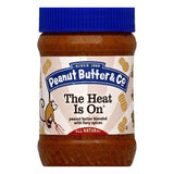 Peanut Butter & Co The Heat Is On Peanut Butter, 16 OZ (Pack of 6)