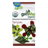 Gimme Roasted Teriyaki Organic Seaweed Snacks, 0.35 Oz (Pack of 12)
