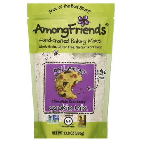 Among Friends Phil'Em Up Chocolate Cranberry Cookie Mix, 13.8 Oz (Pack of 6)