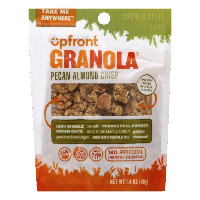Upfront Pecan Almond Crisp Granola, 1.4 OZ  ( Pack of  6)