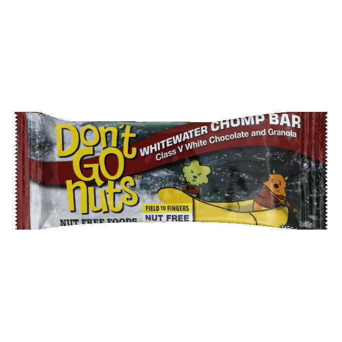 Dont Go Nuts Whitewater Chomp Bar, 1.58 Oz (Pack of 12)
