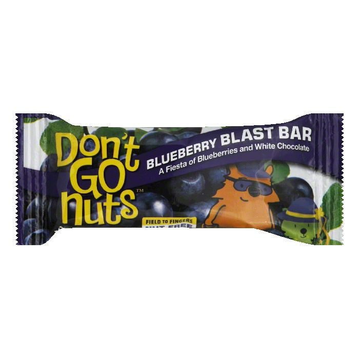 Dont Go Nuts Blueberry Blast Bar, 1.58 Oz (Pack of 12)