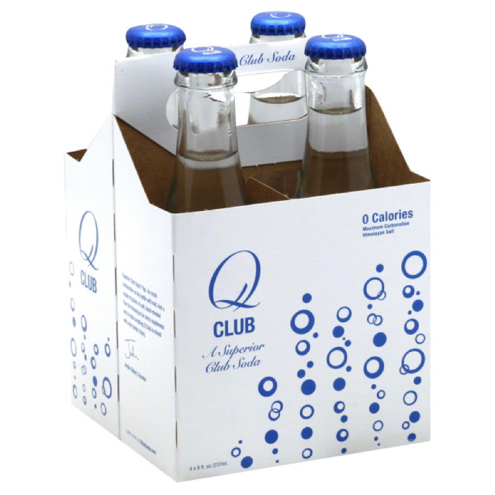 Q Superior Club Soda, 32 Fo (Pack of 6)