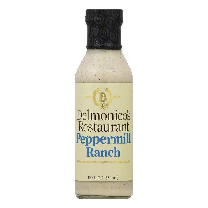 Delmonicos Restaurant Peppermill Ranch, 12 OZ (Pack of 6)