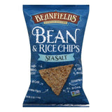 Beanfields Sea Salt Bean and Rice Chips, 6 Oz (Pack of 12)