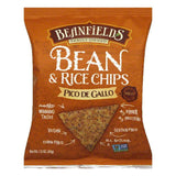 Beanfields Mild Pico De Gallo Bean & Rice Chips, 1.5 Oz (Pack of 24)
