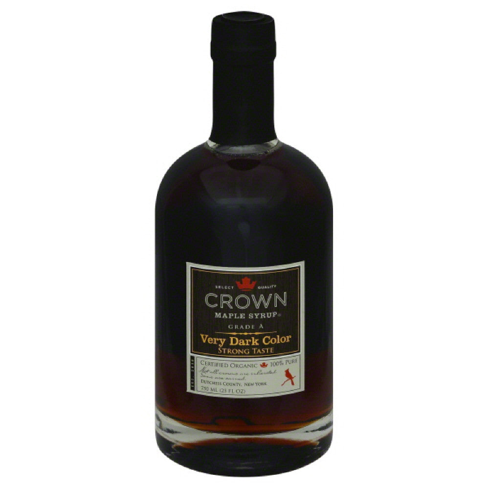 Crown Maple Very Dark Color Maple Syrup, 750 Ml (Pack of 6)
