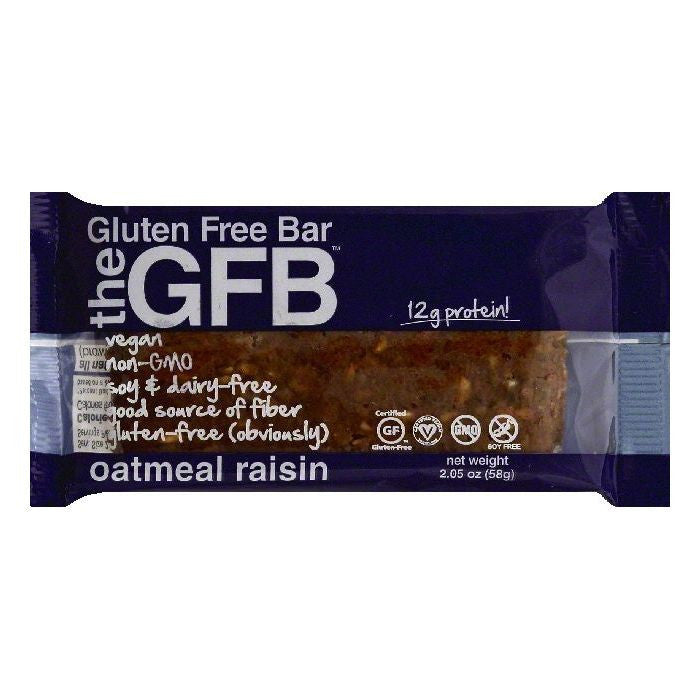 GFB Oatmeal Raisin The Gluten Free Bar, 2.05 OZ (Pack of 12)