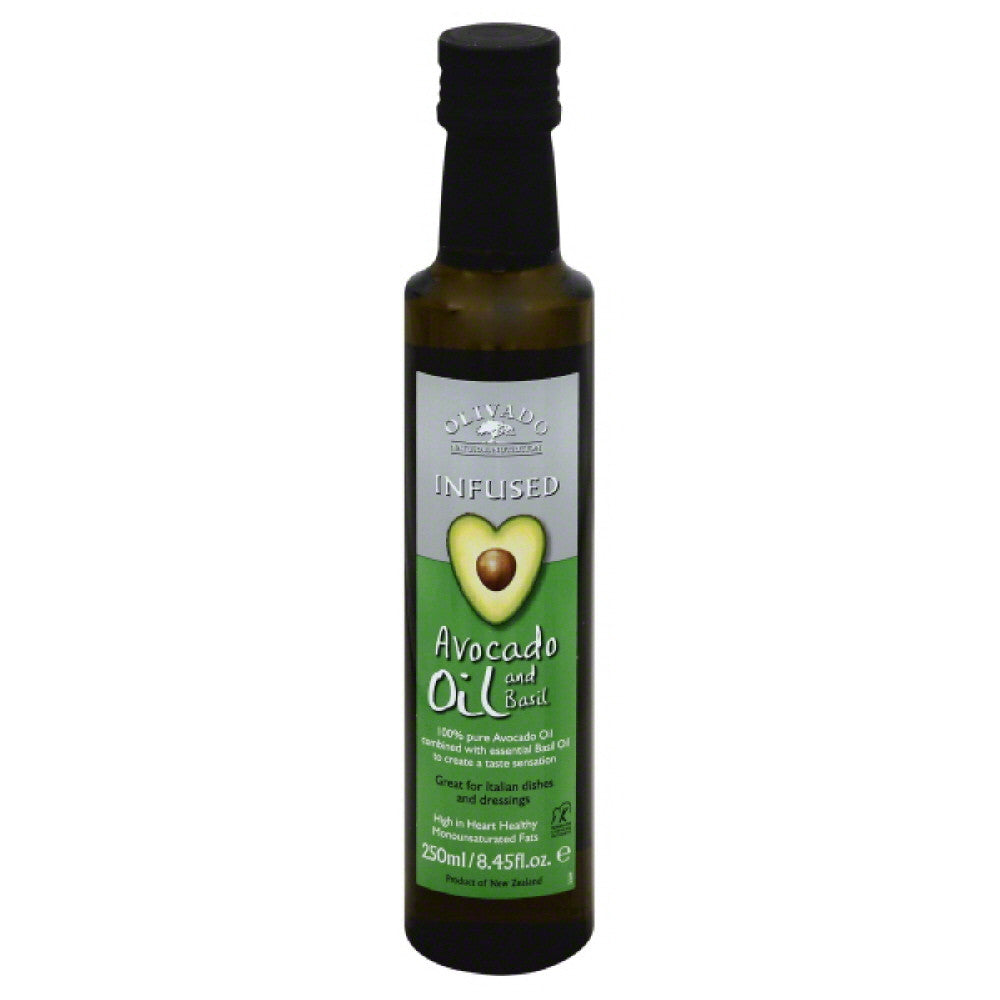 Olivado and Basil Avocado Oil, 250 Ml (Pack of 6)