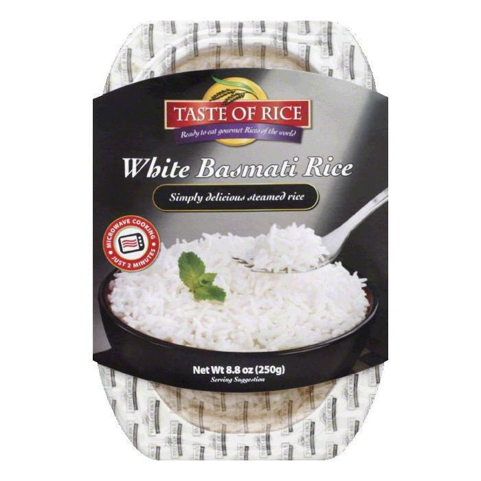 Taste of Rice White Basmati Rice, 8.8 OZ (Pack of 6)