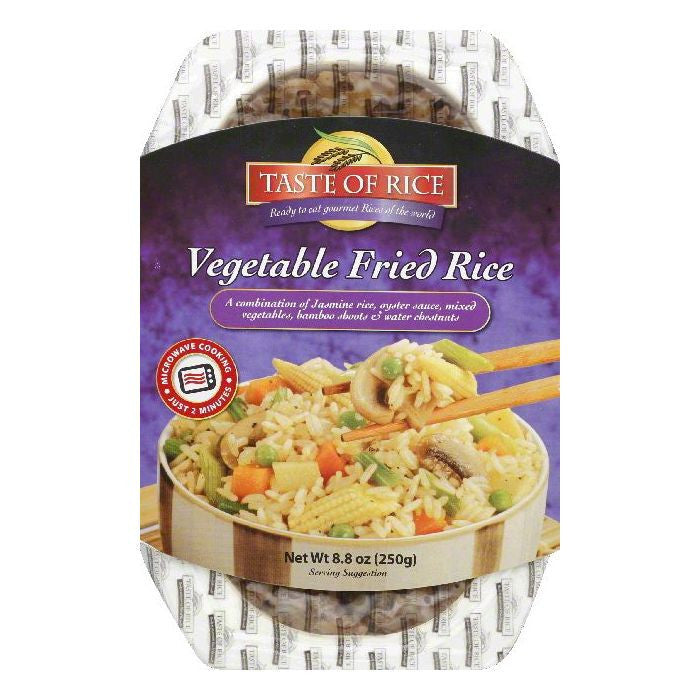 Taste of Rice Vegetable Fried Rice, 8.8 OZ (Pack of 6)