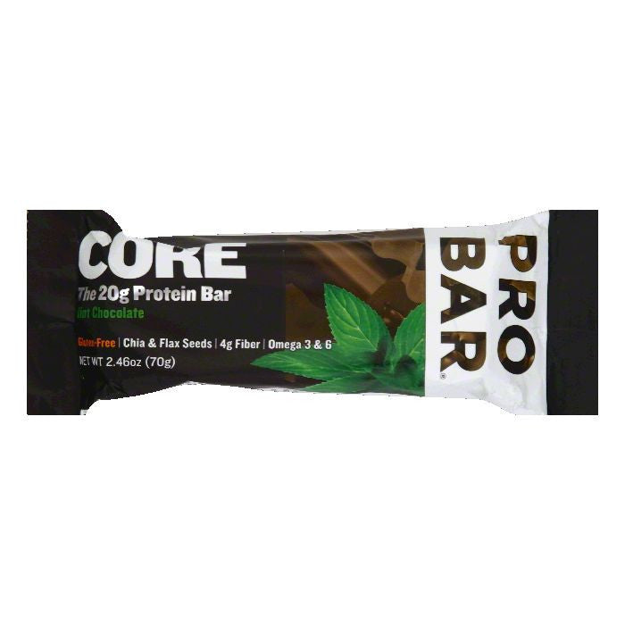 Probar Mint Chocolate Protein Bar, 2.46 Oz (Pack of 12)