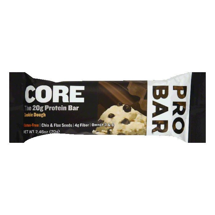 Probar Cookie Dough Protein Bar, 2.46 Oz (Pack of 12)