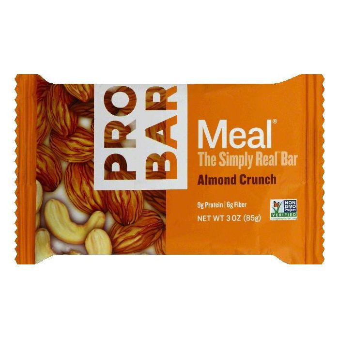 Probar Almond Crunch Energy Bar, 3 OZ (Pack of 12)