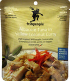 Fishpeople Medium Spice in Yellow Coconut Curry Albacore Tuna, 7 Oz (Pack of 12)