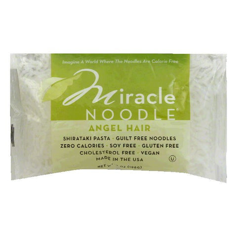 Miracle Noodle Angel Hair Noodle, 7 OZ (Pack of 6)