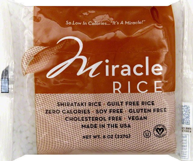 Miracle Noodle Miracle Rice, 8 OZ (Pack of 6)