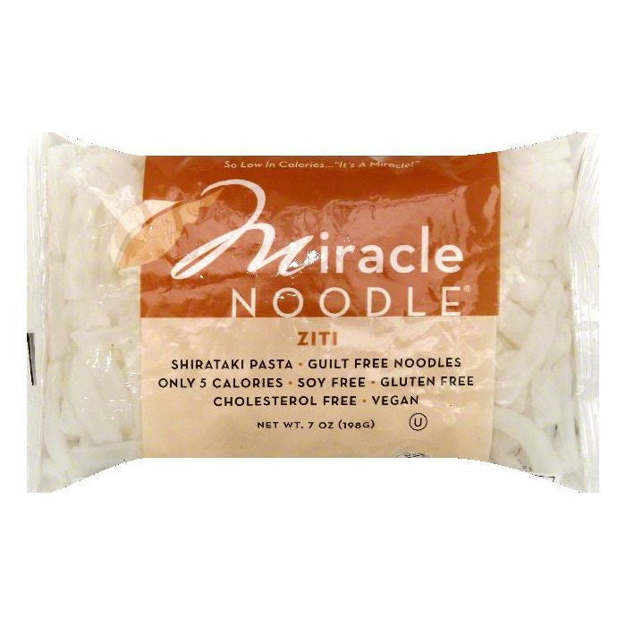 Miracle Noodle Shirataki Ziti, 7 OZ (Pack of 6)
