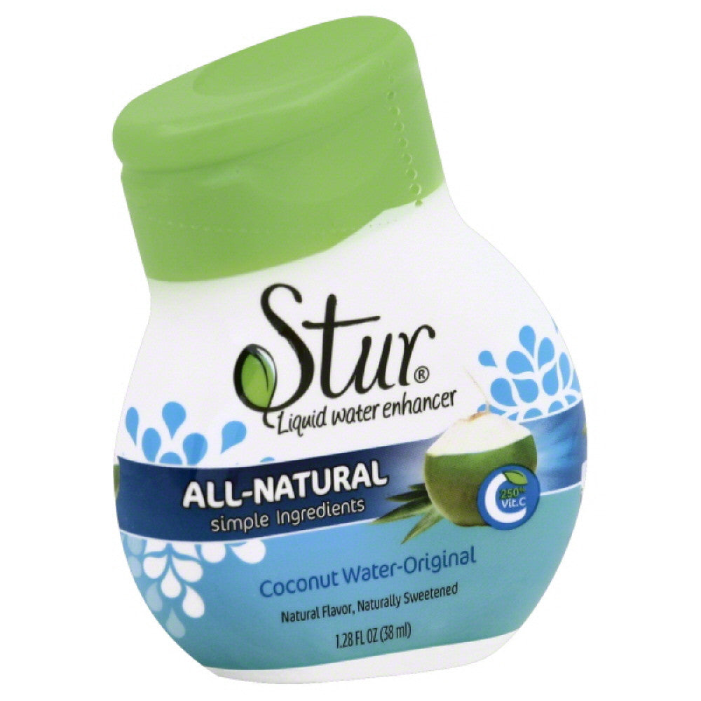 Stur Coconut Water-Original Liquid Water Enhancer, 1.1 Oz (Pack of 6)