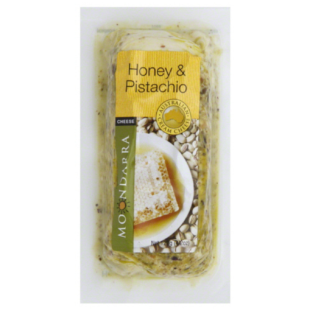 Moondarra Honey & Pistachio Australian Cream Cheese, 4.2 Oz (Pack of 8)