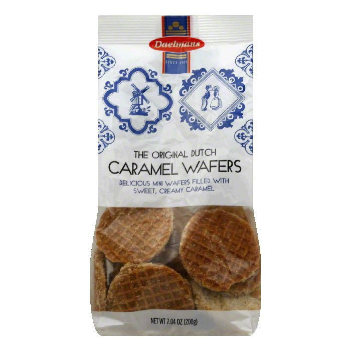 Daelman's Mini Wafer Carmel Stroppwaf, 7.04 OZ (Pack of 12)