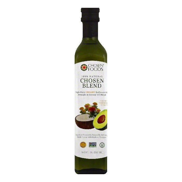 Chosen Foods Chosen Blend Oil Blend, 16.9 OZ (Pack of 6)