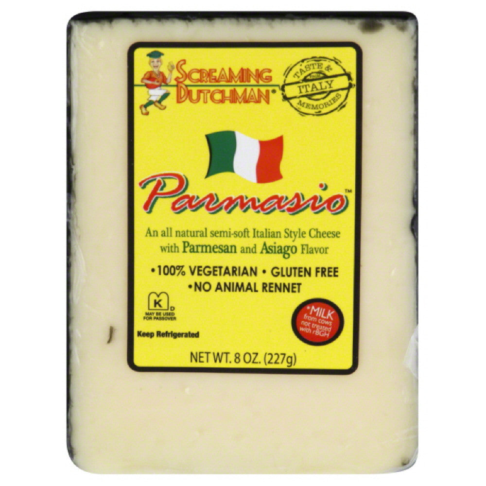 Screaming Dutchman Italian Style Cheese, 8 Oz (Pack of 12)