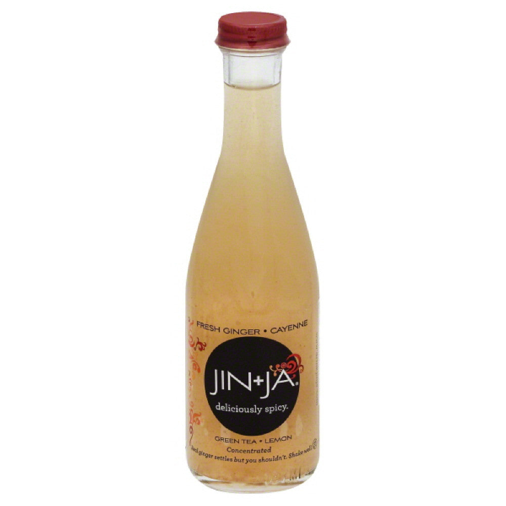 Jin + Ja Lemon Concentrated Green Tea, 6.3 Fo (Pack of 12)
