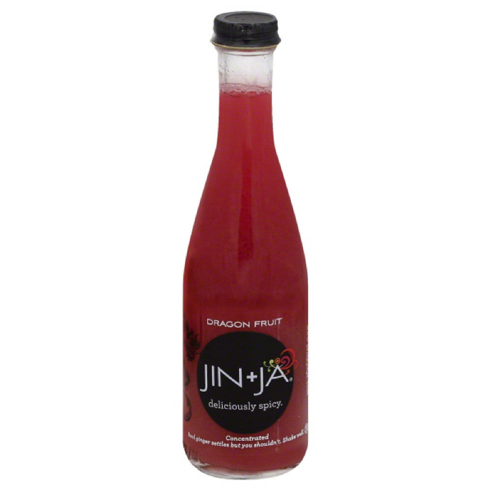 Jin + Ja Dragon Fruit Concentrated Drink, 6.3 Fo (Pack of 12)