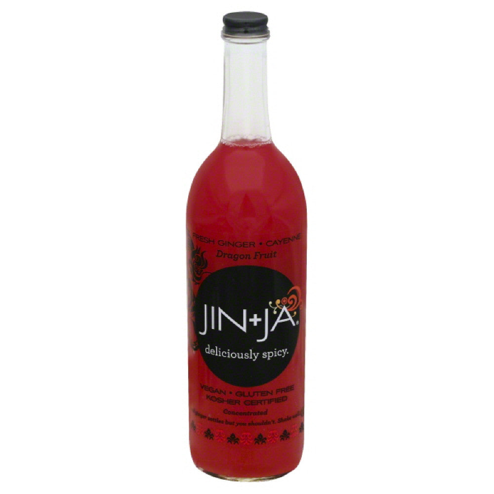 Jin + Ja Dragon Fruit Concentrated Drink, 25.3 Fo (Pack of 12)