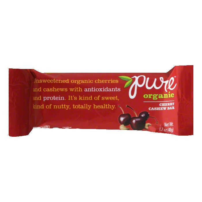 Pure Bar Cherry Cashew, 1.7 OZ (Pack of 12)