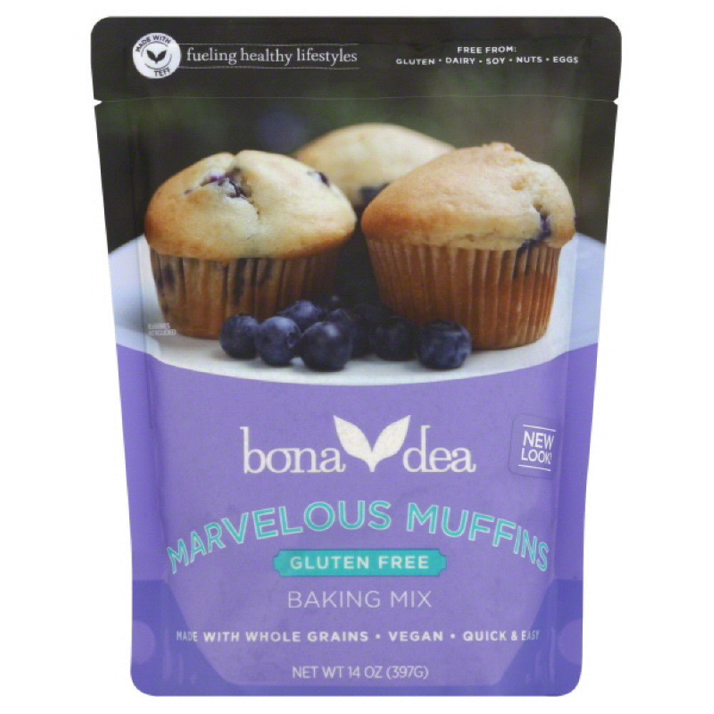 Bona Dea Marvelous Muffins Baking Mix, 14 Oz (Pack of 6)