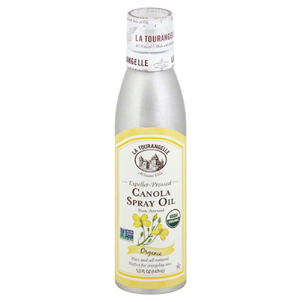 La Tourangelle Non-Aerosol Canola Spray Oil, 147 Ml (Pack of 6)