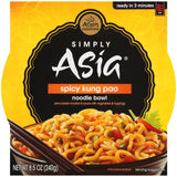 Simply Asia Noodle Bowl Spicy Kung Pao 8.5 Oz Sleeve (Pack of 6)