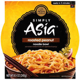 Simply Asia Roasted Peanut Noodle Bowl 8.5 Oz Sleeve (Pack of 6)
