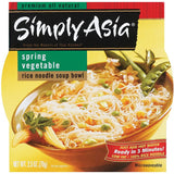 Simply Asia SA Soup Bowl Spring Vegetable Rice Noodle Soup Bowls 2.5 Oz  (Pack of 6)