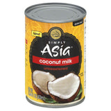 Simply Asia Unsweetened Coconut Milk, 13.66 Oz (Pack of 6)
